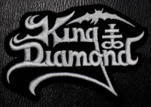 "King Diamond - Logo 4x3"" Embroidered Patch"