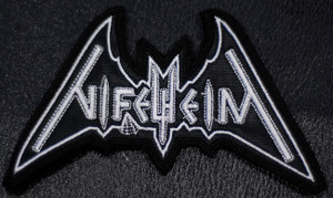 "Nifelheim - Logo 4x3"" Embroidered Patch"