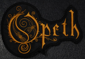 "Opeth - Logo  5.5x4"" Embroidered Patch"