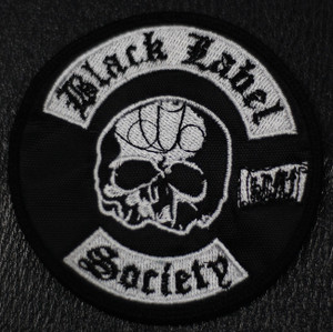 """Black Label society 3x4"""" Embroidered Patch"""