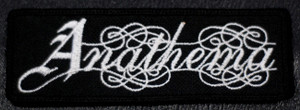"Anathema - Logo 4.5x2"" Embroidered Patch"