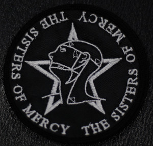 "Sisters of Mercy - Logo 4x4"" Embroidered Patch"