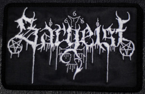 "Sargeist - Logo 5x4"" Embroidered Patch"