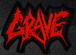 "Grave - Logo  5x3"" Embroidered Patch"