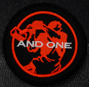 "And one - Logo 4x4"" Embroidered Patch"