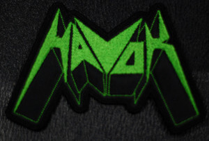"Havok - Logo  4x2"" Embroidered Patch"