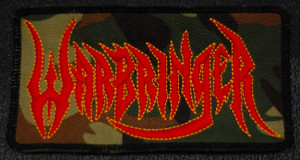 "Warbringer - Logo 4x2"" Embroidered Patch"