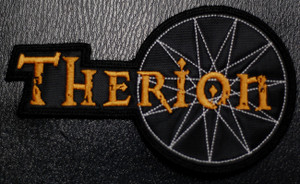 "Therion - Logo 3.5x3.5"" Embroidered Patch"