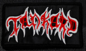 "Tankard - Logo 4x2.5"" Embroidered Patch"