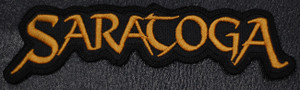 "Saratoga - Logo 5x1.5"" Embroidered Patch"