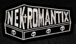 "Nekromantix - Logo 3x2"" Embroidered Patch"