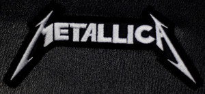 "Metallica - Classic Logo 4x2"" Embroidered Patch"