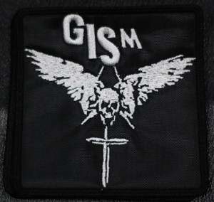 "G.I.S.M. - Skull & Dagger 4x4"" Embroidered Patch"