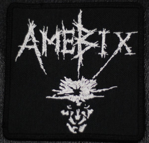 "Amebix - No Gods No Masters 4x4"" Embroidered Patch Skull"