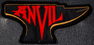 "Anvil - Red/Gold Logo 5x3"" Embroidered Patch"