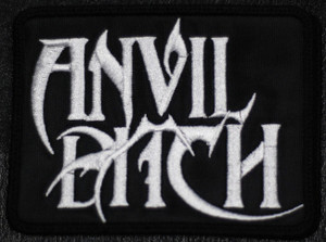 "Anvil Bitch - Logo 4x3"" Embroidered Patch"