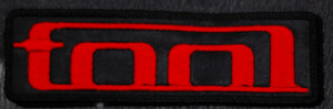 "Tool - Red Logo 5x1.5"" Embroidered Patch"