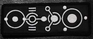 "Apoptygma Berzerk - Circuit Rectangular Logo 5x2"" Embroidered Patch"