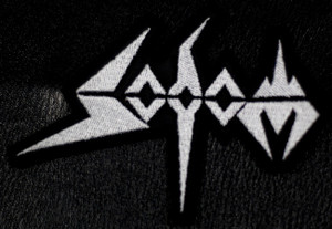 "Sodom - Logo 4x2"" Embroidered Patch"