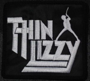 "Thin Lizzy - Logo 4x4"" Embroidered Patch"