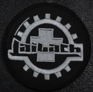 "Laibach - Coat Of Arms 4x4"" Embroidered Patch"