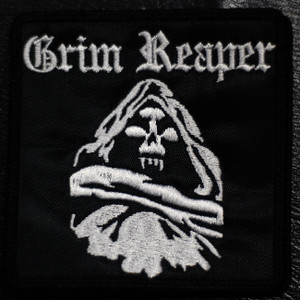 "Grim Reaper - Reaper 4x4"" Embroidered Patch"