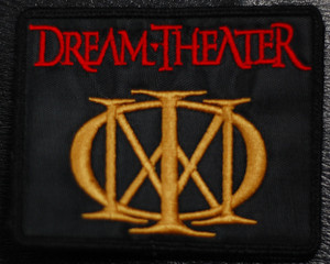 "Dream Theater - Logo 4x3"" Embroidered Patch"