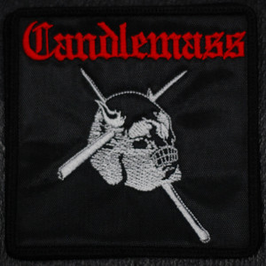 "Candlemass - Epicus Doomicus Metallicus 4x4"" Embroidered Patch"