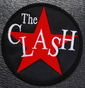 "The Clash - Star Logo 3x3"" Embroidered Patch"
