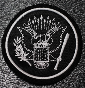 "Ramones - Eagle Logo 3x3"" Embroidered Patch"