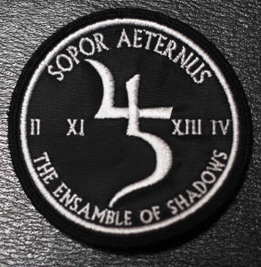 "Sopor Aeternus & the Ensemble of Shadows - Logo 3x3"" Embroidered Patch"