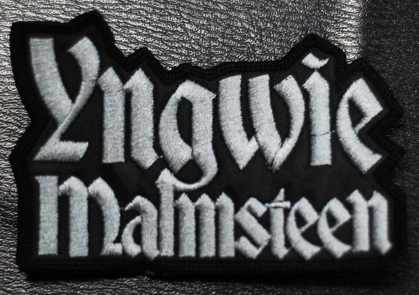Yngwie Malmsteen Logo Embroidered Patch