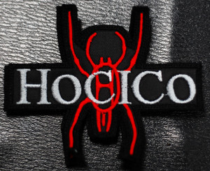 "Hocico - Spider Logo 4x2"" Embroidered Patch"