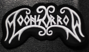 "Moonsorrow - Logo 3.5x2"" Embroidered Patch"
