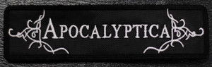 "Apocaliptica - Logo 5x1"" Embroidered Patch"