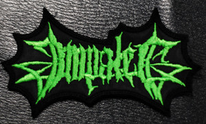 "Impaled - Green Logo 3x1.5"" Embroidered Patch"