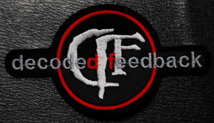 "Decoded Feedback - Logo 5x3"" Embroidered Patch"