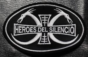 "Heroes del Silencio - Dragon Logo 4x3"" Embroidered Patch"