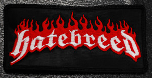 "Hatebreed - Logo 5x2."" Embroidered Patch"