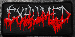 "Exhumed - Logo 4x2.5"" Embroidered Patch"