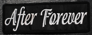 "After Forever - Logo 4x2"" Embroidered Patch"