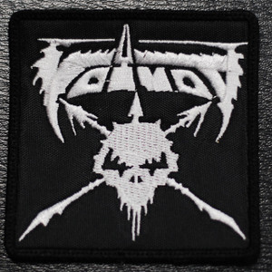 "Voivod - Logo 3x3"" Embroidered Patch"