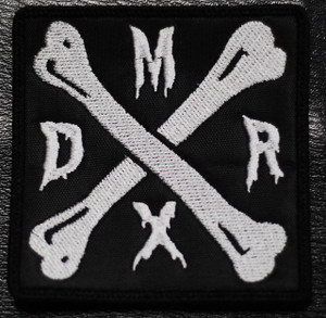 "Deathrock Mexico - Logo 3x3"" Embroidered Patch"