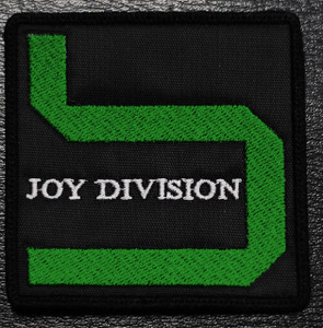 "Joy Division - Substance Logo 3x3"" Embroidered Patch"