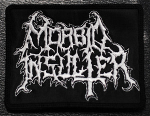 "Morbid Insulter - Logo 4x3"" Embroidered Patch"