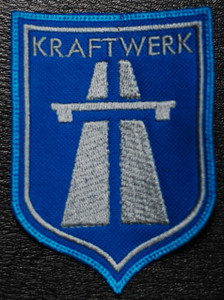 "Kraftwerk - Autobah Logo 3x4"" Embroidered Patch"