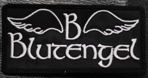 "Blutengel - Logo 4x2"" Embroidered Patch"