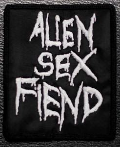 "Alien Sex Fiend - Logo 3x4"" Embroidered Patch"