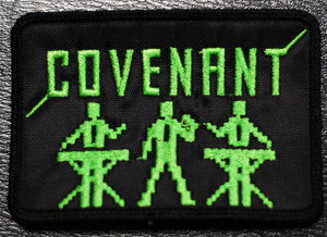 "Covenant - Green Buddies 4x2"" Embroidered Patch"