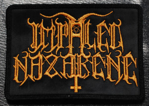"Impaled Nazarene - Logo 4x3"" Embroidered Patch"